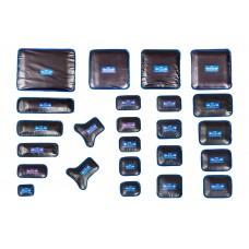 Пластырь ПР-22 хв (Пластырь резинокордный для ремонта радиальных шин) 75x175 - 2 сл.корда
