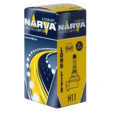 Автолампа H11 (55) PGJ19-2 LONG LIFE 12V NARVA