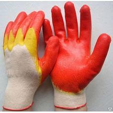 Перчатки с 2-слойным латексным покрытием Арт.110(704) (10шт)
