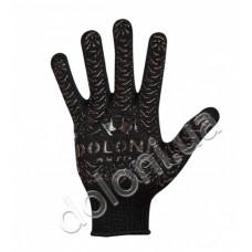 Перчатки DOLONI-563 AUTO чёрные с рисунком ПВХ