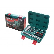 Tool set 26pcs 1/4''(6 point, 4-14mm)