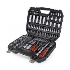 Tool set ''Profi''108pcs 1/2'',1/4'', 6 point, 4-32mm