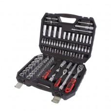Tool set ''Profi''94pcs 1/2'',1/4'', 6 point, 4-32mm