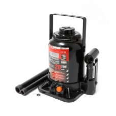 Bottle jack 20T low profile with valve + repair kit (h min-190mm, h max-335mm, rod step -95mm, screw