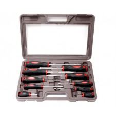 Magnetic screwdrivers set ''Profi''10pcs (SL:5.5х100, 6.5х125, 8.0х150, 9.5х175, 6.5х38mm, PH:1х75, 2