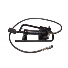 Hydraulic foot pump (20-700bar, oil volume-0.6L, length-550mm, width-150mm, height-300mm)