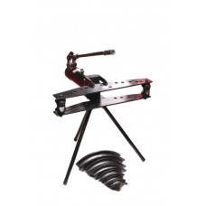 Hydraulic horizontal pipe bender 13T (1/2 '', 3/4'', 1 '', 1-1 / 4'', 1-1 / 2 '', 2'', piston step 250mm,