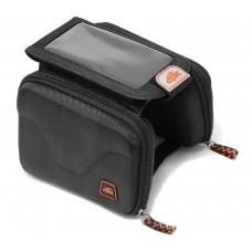 Bicycle frame bag (2 pockets + phone case)