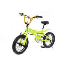 Trick Bike for teenagers (frame: steel, rigid forks, steel, rim brakes, soft, saddle, rim Ø - 16 '',