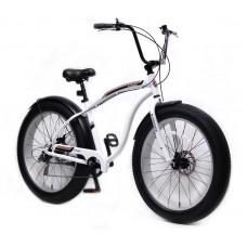 Fatbike (frame: aluminium, wheels Ø:26'', 7 speed, Tektro disc brakes front / rear, 4 ''tires, seat m