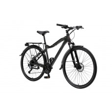 Bicycle MTB Stroller-X (Al6061, rim 700с, front / back tires 40c, 27 speed, Shimano Acera, fork RST