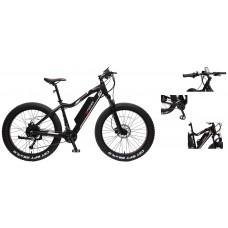 Electro-Fatbike Riot-E (40 km/h, range per charge: 55km, 48V \ 500W, 10.4 Ah 48V, AL6061, Tektro bra