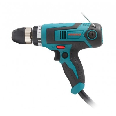 Electric driver drill (400 W, 220 V, max Ø 10 mm, 0-1500 rpm, cable 4m)