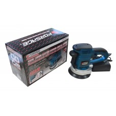 Orbital sander with dust collector and additional coal brushes (220V, 450W, 4000-13000 rpm, Ø150mm)