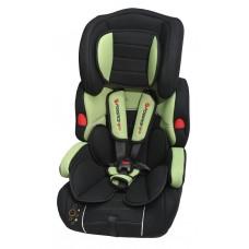 Кресло детское BAB001-S4 black/green 9-36кг