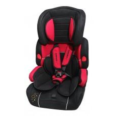 Кресло детское BAB001-S6 black/red 9-36кг