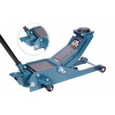 Hydraulic floor jack 2T reinforced low profile (pickup height - 75mm, lifting height - 510mm, magnet