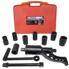 Torque multiplier set (sockets-24mm,27mm,30mm,32mm,33mm,38mm,41mm,1''and adapter 1'', length - 270mm,