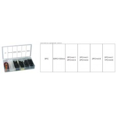 Cable management set 71pcs