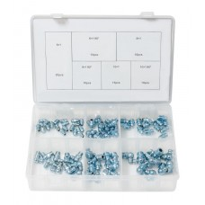 Hydraulic grease fitting assortment 80pcs