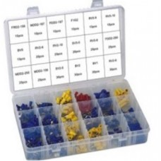 Wire connector nut spring insert assortment set, 360pcs