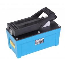 Air hydraulic foot pump (oil volume - 1.6L, pressure - 700 bar)