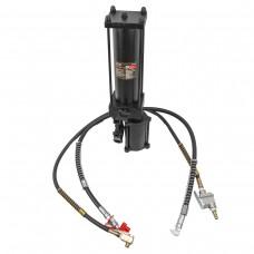 Hydraulic press station with air drive 20T (oil volume - 0.9L, pressure - 630 bar)