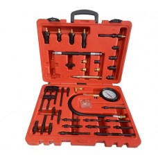 Diesel engine compression tester kit universal with adaрter set 47pcs, in a case