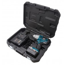 Battery impact wrench 1/2''(18V, 4.0AH, LI-ION, 0-1600 rpm, 520 Nm), in a case