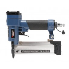 Pneumatic nailer and stapler 2 in 1 (pin: Ø-0.64mm, L 10-35mm), in a case