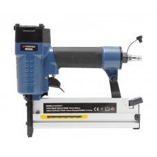 Pneumatic nailer and stapler 2 in 1 (pin: L 10-50mm, staple: crown-5.8mm, L 10-50mm), in a case