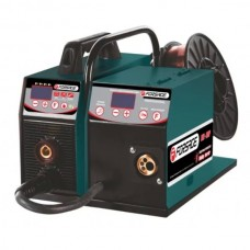 Welding inverter ПСИ-200P (mmА, MIG/MAG, TIG, regulated current 10-200А, electrode 1.6-5mm, wire 0.6