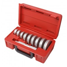 Wheel bearing race and seal driver set 10pcs, in a case