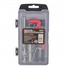 Thread repair kit M12х1.25, 15pcs, in a case