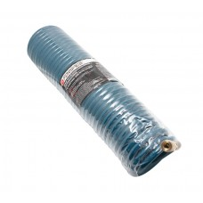 PU recoil hose 10mm х 14mm х 10m with fittings (brass, max pressure - 15bar, working temperature fro