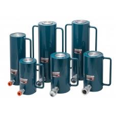 Hydraulic cylinder jack 30T (rod step - 50mm, total length - 185mm, pressure 666 bar)