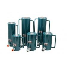 Hydraulic cylinder jack 40T (rod step - 150mm, total length - 295mm, pressure 616 bar)