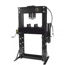 Shop press 40T, arm/foot drive (operating height: 0-865mm, operating width: 685mm, workbench: 325х68