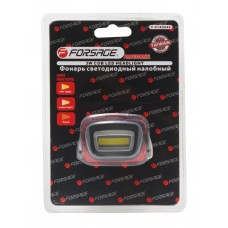 Headlight LED with batteries (3 lighting modes, CUB, 3xAAA), in blister
