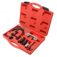 Diesel engine timing tool set BMW 13pcs (M41, M51, M47TU, M47TUT2, M57TU), in a case