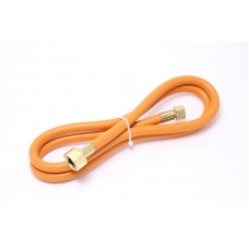Flexible hose for gas torch with fittings 1.5m