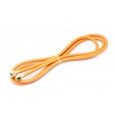 Flexible hose for gas torch with fittings 3m