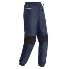 Waterproof electric pants (р.50-52, deep blue, battery:5V, 2A, from 10000 mAh, 3 heating modes, bat