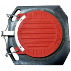 Wheel alignment turntable with wheel chocks for four post electrohydraulic lift PL-FS50 (2pcs)