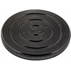Rubber pad for lift claw (Ø 115mm, depth 25mm) cross