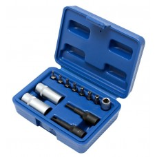 Air comditoining tool set 12pcs, in a case