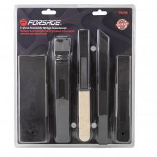 Panel removal set 5pcs (length х width: 250х20, 249х20, 231х29.5, 192х59, 190х28), in blister
