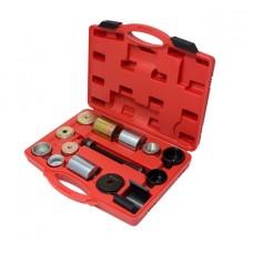 Silent block replacement tool set 14pcs BMW (E36/46, E38/39, E60/61, E31, E90/91), in a case