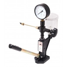 Diesel injector nozzle tester with pressure gauge and threaded adapters (M12хM12, M12хM14)
