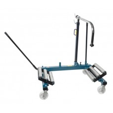 Hydraulic wheel trolley for removal of wheels and brake drums on aircrafts 1.5T